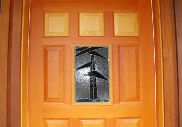Sample Work - Warburton Woodworks - Wooden Door