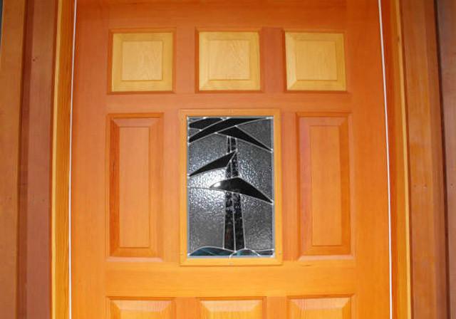 Sample Work - Warburton Woodworks - Wooden Door