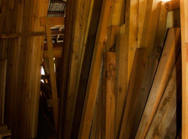 Lumber at Warburton Woodworks