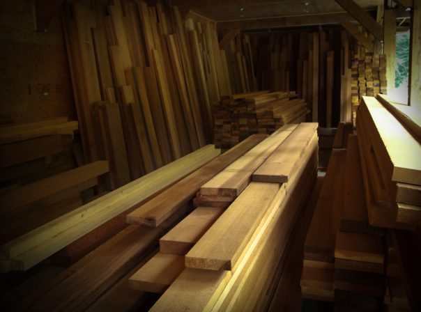 Lumber at Warburton Woodworks