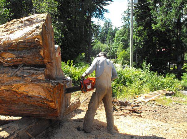 Cutting Raw Lumber