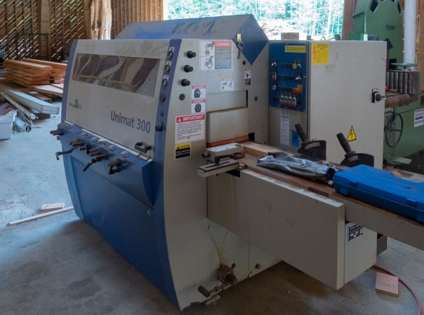 Warburton Woodworks Machinery
