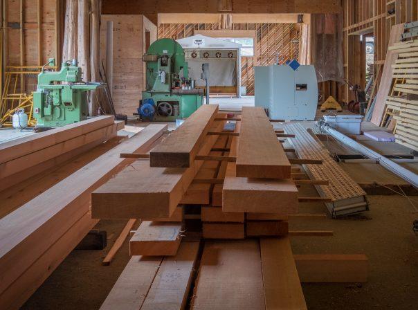 Lumber & Equipment - Kiln Drying Machine