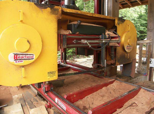 Warburton Woodworks Sawmill Close Up